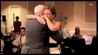 Video Bride's Touching Father-Daughter Dance - Without Her Deceased Father download MP3, 3GP, MP4, WEBM, AVI, FLV Agustus 2018