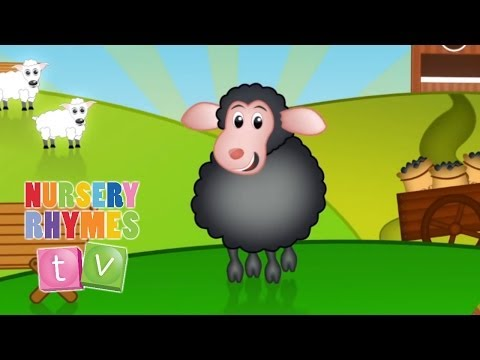 BAA BAA BLACK SHEEP |  Nursery Rhymes TV. Toddler Kindergarten Preschool Baby Songs.