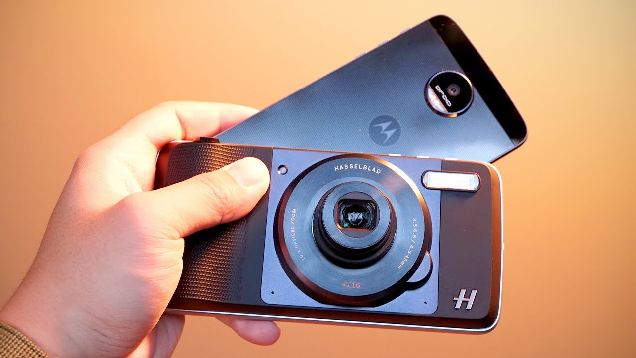 This Turns Your Phone into a Camera - YouTube