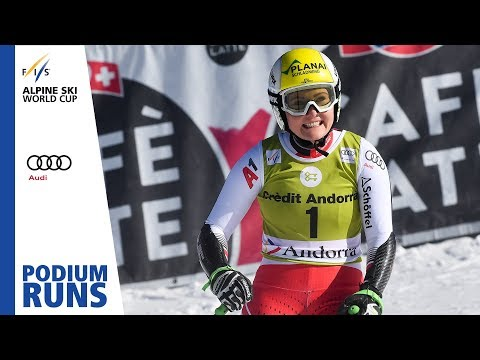 Tamara Tippler | Ladies' Super-G | Soldeu | Finals | 2nd place | FIS Alpine
