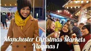 GRWM, Mini Haul & Manchester Christmas Markets | Vlogmas Week 1