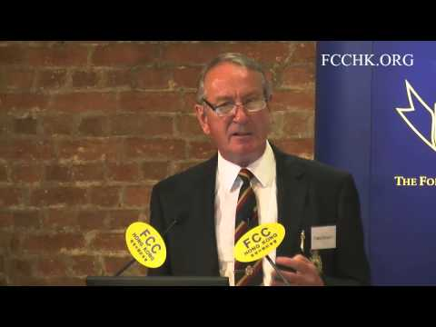 2014.09.18 - Chris Emmett (Topic: An Insider's View: The Hong Kong Police and Politics)
