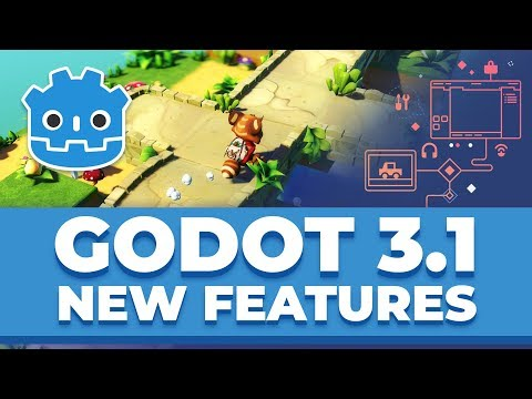 New Features in Godot Engine 3.1 – Release Trailer