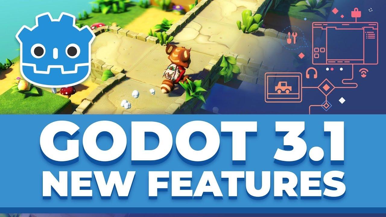 Godot team ships Godot 3 1 | CG Channel