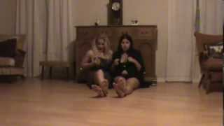 Sidney Screams And Whitney Morgan Foot Compare