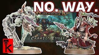 Carrion Empire Reveal! New Skaven & Flesh-eater Courts: Warhammer Aos