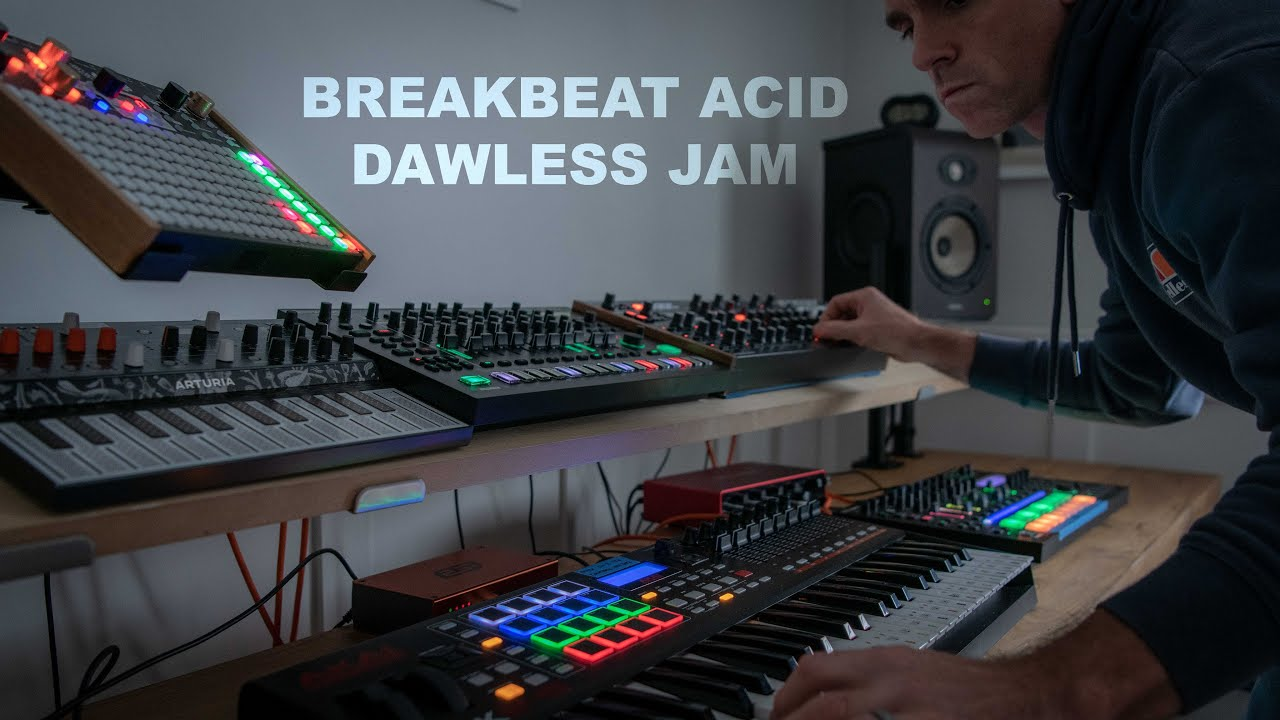 Download Breakbeat // Acid // Electro // Dawless Live Jam  - I love this one!