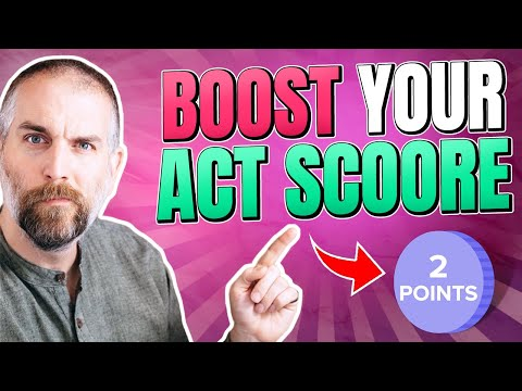 Improve Your ACT Score By 2 Points in 20 Minutes (Full Episode) | The College Essay Guy Podcast