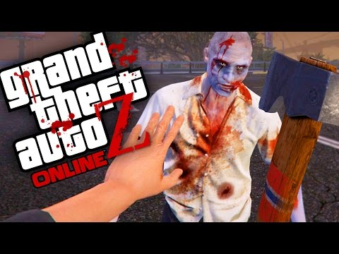GTA V Zombies ONLINE - Morra, Zumbi, Morra... Novamente   Ep.02 (GTA 5 Zombie Online MOD)