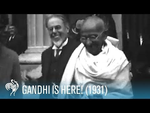 Gandhi Is  Here! 1931