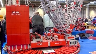 RC crane Fischertechnik EXTREME! Amazing built crane!