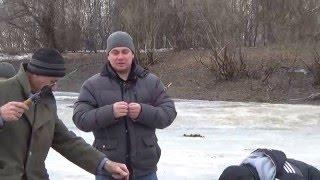 Зимняя рыбалка на подъязка и поиск толового червя
