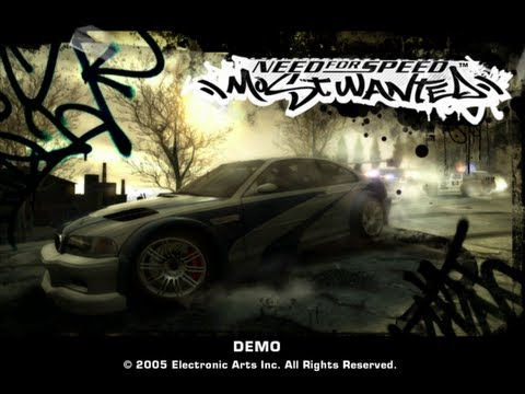 Need For Speed Most Wanted PC Demo Gameplay - HD 720p