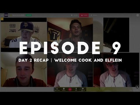 Vikings Day 2 Recap | Welcome Cook and Elflein - Vikings Territory Roundtable Episode 9