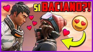 ZENITH try to kiss anywhere?! – Fortnite: The Movie