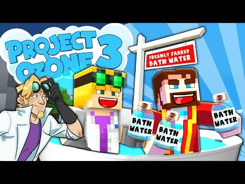 Minecraft Project Ozone 3 - SELLING OUR BATH WATER #83