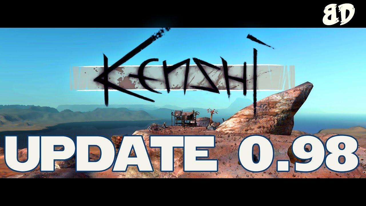 Kenshi Update 0 98 0 [Robot Limbs, Crossbows & Blood!!] - Most