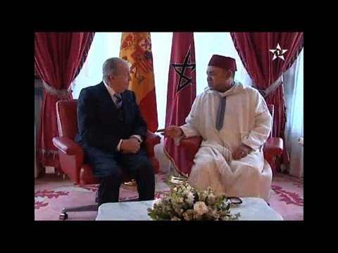 Spanish king on day two of state visit to Morocco