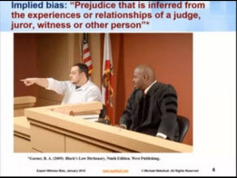 Courtroom Bias to forensic document examiners