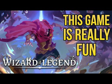 Wizard of Legend - Top Down Rogue-like Brawler - First Impressions