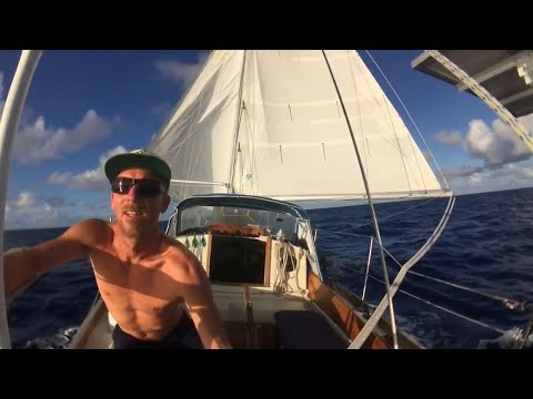 Sailing Solo across the Pacific Ocean - Hawaii to the Marshall Islands - 21 Days Alone at Sea