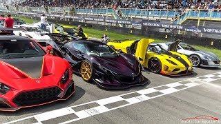 $50 MILLION HYPERCAR LINE UP ! Apollo IE, Zenvo TSR-S, Agera RS ML, LaFerrari, Ford GT,...