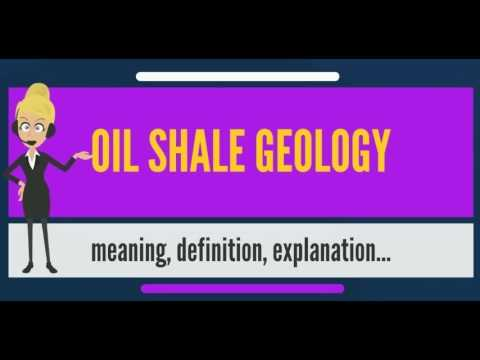 What is OIL SHALE GEOLOGY? What does OIL SHALE GEOLOGY mean? OIL SHALE GEOLOGY meaning