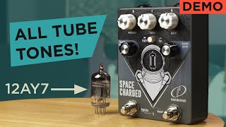Fat Tube Tones In 9 Volts : Crazy Tube Circuits Space Charged v2