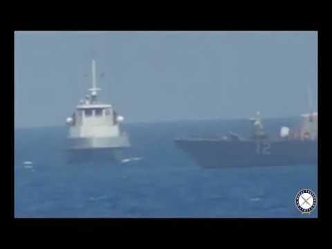 USS Thunderbolt Intercepted by Iranian Patrol Craft