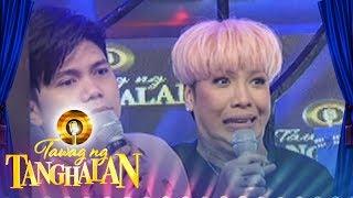 Tawag Ng Tanghalan: Jhong Hilariao gongs Vice and Vhong