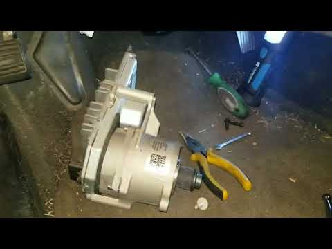 2009 Chevy Malibu electric power steering motor and torque sensor replacement
