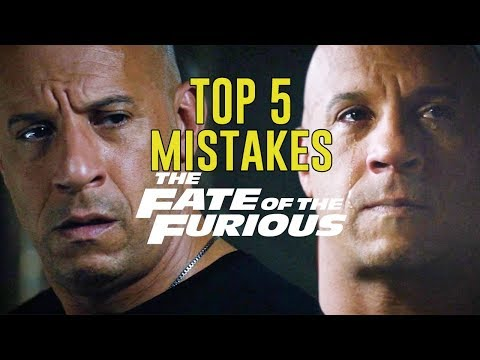 THE FATE OF THE FURIOUS - Top 5 Movie Mistakes