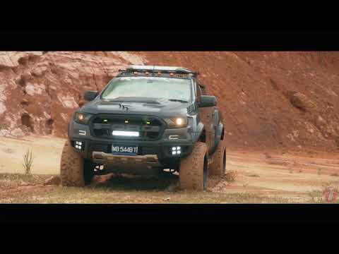 Ford Ranger Custom Body Kit Raptor