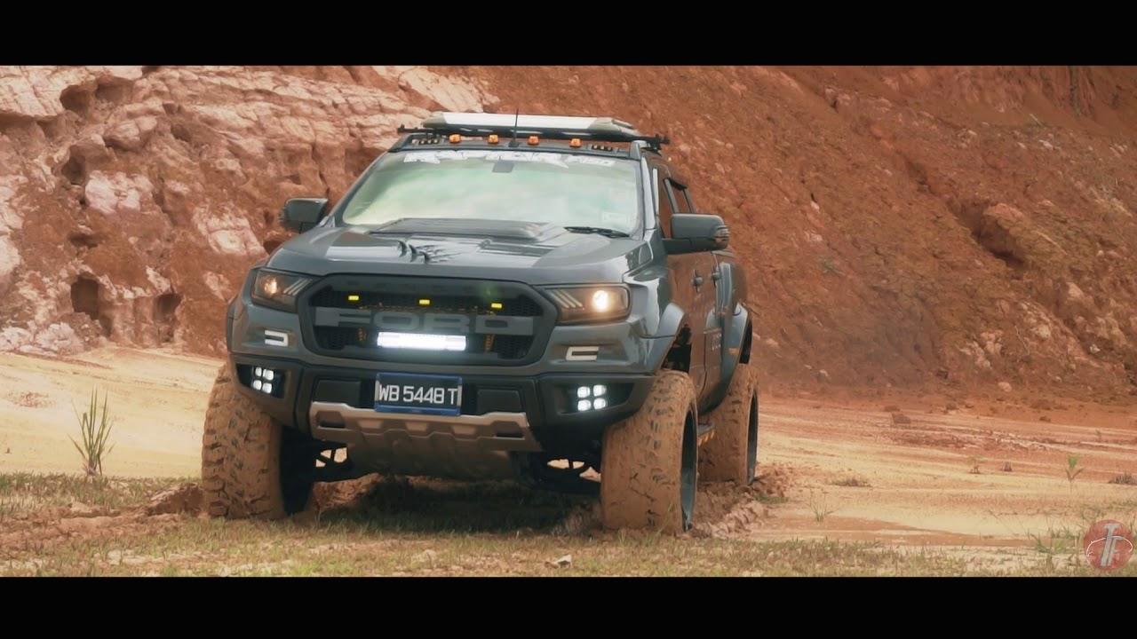 Ford Ranger Custom Body Kit Raptor Youtube
