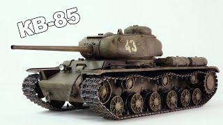 Он ПРОБИВАЛ Тигра в Лоб - Советский тяжёлый танк КВ-85. Танки Второй мировой