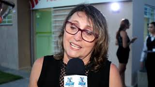 Rita Peixoto agradece a homenagem da FM Jangadeiro Limoeiro feita ao Laurinho