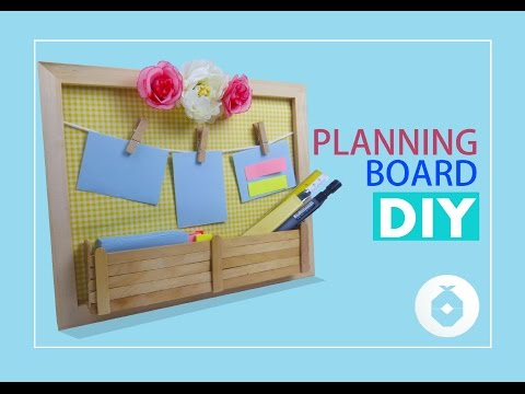 Planning Board DIY I Pineapple DIY