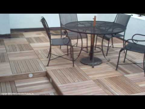 ikea wood deck tiles review lowes rooftop decks patios terraces video