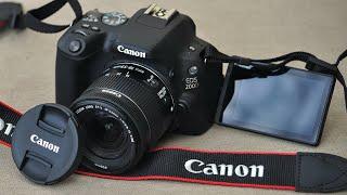подробный обзор  распаковка Canon EOS 200D  Примеры фото  видео