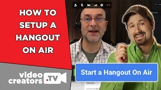 how to do hangout on air