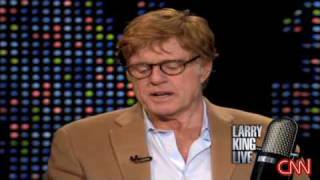 Robert Redford on Larry king live