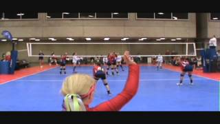 Seven Year Old Volleyball Player