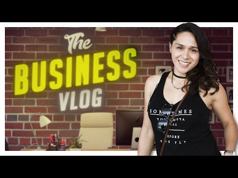 The Business Vlog by Christia !