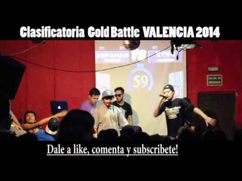 Xopi VS Abraham 16avos GOLD BATTLE VALENCIA 201