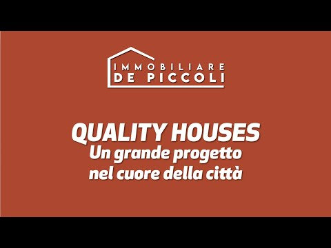 QUALITY HOUSES - Un grande progetto nel cuore di Noventa di Piave