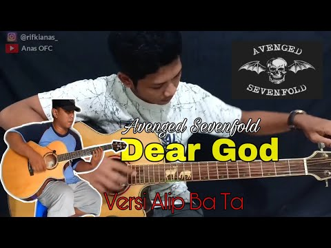 Dear God - Avenged Sevenfold | Fingerstyle Cover