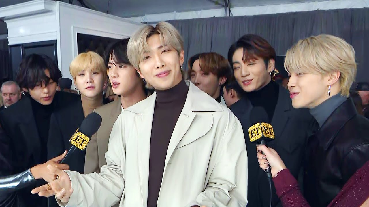 BTS Gushes Over Ariana Grande | GRAMMYs 2020