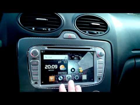 Магнитола на Android в штатное место Ford Focus 2