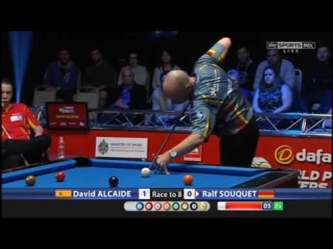 David Alcaide v Ralf Souquet | World Pool Masters 2017 Last 16