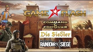 Game TV Schweiz - Command & Conquer Remaster | Die Siedler History Collection | Rainbow Six Siege Season 4